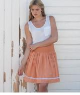 Abi Skirt - Apricot Was £86/£78