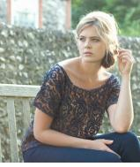 Butterfly Top - Navy Lace *SOLD OUT*