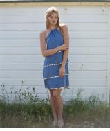 Leila Dress - Sky Blue *LIMITED EDITION*