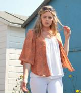 Summer Bolero - Apricot Shoal
