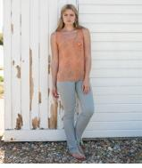 Tux Top - Apricot Shoal 